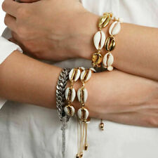 BOHO Summer Sea Shell Beaded Bracelet Women Jewelry Beach Ankle Bracelets Chain