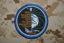 Y2 écusson insigne patch Aérospatiale ALLEN HOFFMAN CHELI NICOLLIER CHANG-DIAZ
