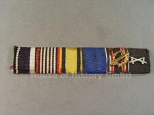 6er Feldspange: EK, Kriegshilfsdienst, Württemberg, Ehrenlegion, DA