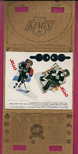 RARE 1994-95 KINGS WAYNE GRETZKY JELL-O PUDDING COMPLETE PANEL