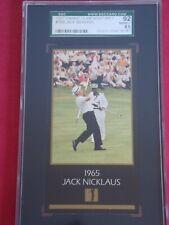 1997 GRAND SLAM VENTURES #1965 JACK NICKLAUS GOLF SET BREAK SGC 92 NM/MT HOF