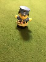Fisher Price Little People police girl woman cop fuzz whistle crossing guard toy
