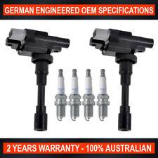 Set 4x NGK Spark Plugs & 2x Ignition Coils for Suzuki Baleno Carry Jimny 1.3 1.6