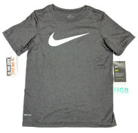 Nike Dry Swoosh Training T-Shirt Dri-Fit Anti-Oder Black White 819838-032 NWT