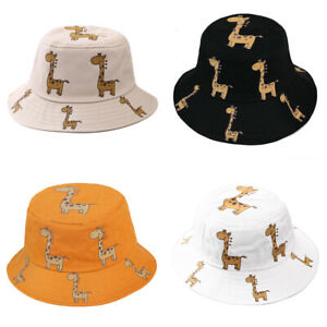 1x Baby Bucket Hat Cotton Beach Hats Cap For Infant Boys Girls Sun Protection