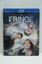 Fringe: Season 3 (Blu-ray, 2011, 4-Disc Set) w/Slip Cover