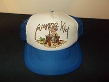 VTG-1980s Youth Size Arizona Kid cowboy vacation mesh trucker snapback hat sku25