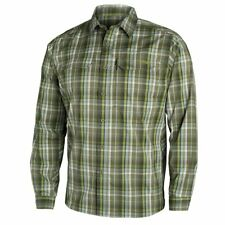 Sitka Gear Globe Trotter Long Sleeve Button Shirt, Cargo Plaid, MD - 80002-CP-M