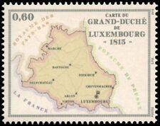 Luxemburg 2015  200jr Luxemburg landkaart    POSTFRIS/MNH