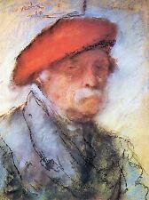 Joseph rippl Ronai dernier Self Portrait OLD MASTER ART PEINTURE imprimer 1696oma