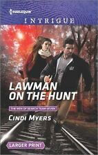 Lawman on the Hunt (The Men of Search Team Seven), Myers, Cindi, Acceptable Book