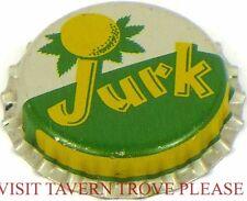 Unused 1950s Jurk Lemon Soda Cork Crown Tavern Trove