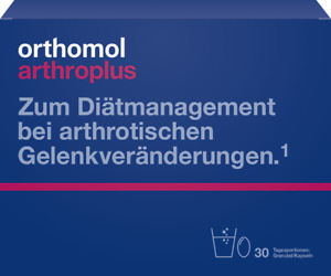 Orthomol arthro arthroplus Granulat Kapseln Kombi für 30 Tage PZN 08815227