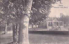 LUCCA - Baluardo delle Mura 1921