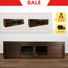 TV01B | Tasmanian Oak TV Cabinet Stand Entertainment Unit with Storage