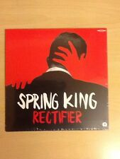 """SPRING KING-7"""" SINGLE-LIMITED EDITION RED VINYL-RECTIFIER-MINT/STILL SEALED"""