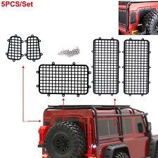 5X Metallo Fence Window Mesh Protective Per TRAXXAS TRX4 TRX-4 1/10 RC Auto Cars