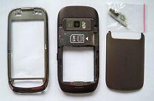 Brown fascia housing cover facia faceplate case for Nokia C7 brown
