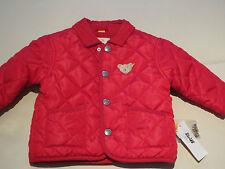 Steiff Baby Kinder Winter Jacke Gr.62 Rot Jacken Steppjacke Mädchen Jungen NEU