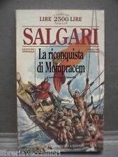 LA RICONQUISTA DI MOMPRACEM Emilio Salgari Sergio Campailla Newton 1995 Libro