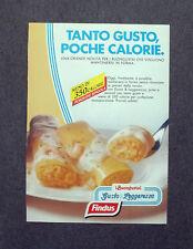 F779 - Advertising Pubblicità - 1988 - FINDUS GUSTA E LEGGEREZZA I BUONGUSTAI