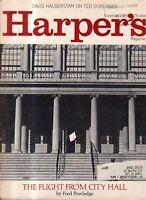 1969 Harper's November - Wall Street 1929; Igor Stravinsky; Ted Sorenson; Biafra