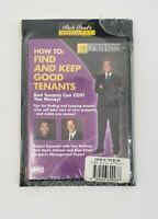 Rich Dad Kiyosaki Keep Good Tenants CD & ABC'S Of Real Estate Book McElroy Combo