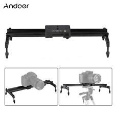 "Andoer 40cm/15.7"" Alloy Track Dolly Slider Stabilizer Rail for Video DSLR Camera"