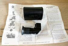Minolta Winkelsucher Right Angle Finder f.MC MD SLR Collectors Item Sammlerstück