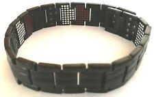 Ceramic Bracelet with Magnetic Hematite. KCR02