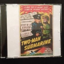 TWO MAN SUBMARINE Classic DVD 1944 Tom Neal, Ann Savage, J. Carrol Naish
