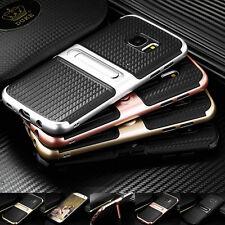 Hybrid Handy Tasche Für Samsung Apple Schutz Hülle Case Cover Panzer Etui Bumper