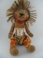 DISNEY THE LION KING BROADWAY MUSICAL PLAY PLUSH  SIMBA Stuffed DOLL Theater