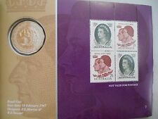 2006 RV 50c Fifty Cent Coin Royal Queen's Visit Prestige Booklet Coin and Stamp