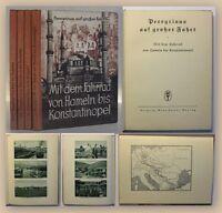 Peregrinus auf großer Fahrt um 1932 4 Bde Landeskune Ortskunde Geografie xy