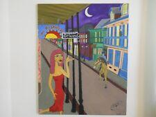 "Original Oil, Rock&Roll art, ""House of the Rising Sun"", no copies made"