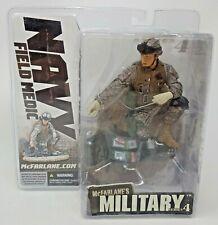 McFarlane Toys Military Series 4 Navy Field Medic Statue/Figure Diorama MOC