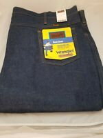 Wrangler Men's Big Western Regular Bootcut Jean 945 NAV NOS 52 x 32