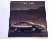 ORIGINAL 96 PAINT COLOR CHIPS BROCHURE 2 for 1 1996 FORD PROBE SALES CATALOG