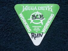 MEGADETH & ALMIGHTY & ALICE IN CHAINS - 26 Mar 1991, Hammersmith, Backstage Pass