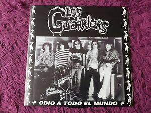 """Los Guarriors – Odio A Todo El Mundo Vinyl 7"""" EP 1995 Spain NT015"""