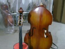 3/4 Upright double bass detachable Plywood Back Spruce wood Ebony Parts Bass Bag