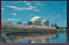 WASHINGTON DC Jefferson Memorial 1966 Vintage Postcard PC