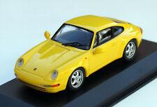 Minichamps Porsche 911 Carrera Coupe Type 993 Year 1993-1998, M.1 : 43, Gelb, Ob