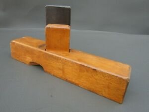 Wooden unusual spill plane vintage old tool