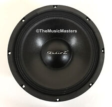 "1X Single 10"" inch 8 ohm WOOFER Bass Speaker Studio Home Cabinet Box Replacement"