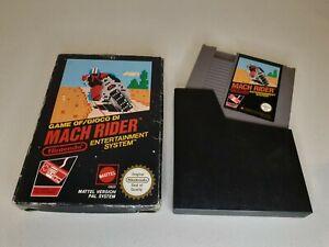 Mach Rider  (Nintendo NES) PAL In Original Box