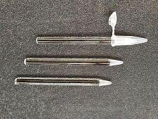 3 Glass Pestle for1.5ml Microcentrifuge Tube Tissue Grinder,  New
