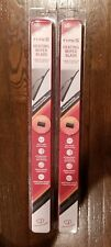 """2 PACK - 16"""" TYPE S Heating Heated Wiper Blades Connects To Vehicles Battery"""