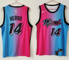 Tyler Herro Miami Heat 2020-21 City Edition Vice Blue Pick Jersey